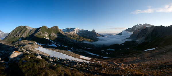 Sunrise on the Vanoise (Vanoise)