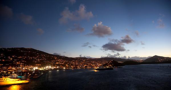 Sunset in Dutch St Maartin Caribbean  St. Maartin