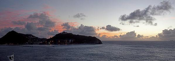 Leaving Antigua Caribbean  antigua