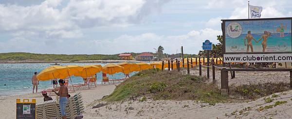 Orient Beach Caribbean  St. Maartin