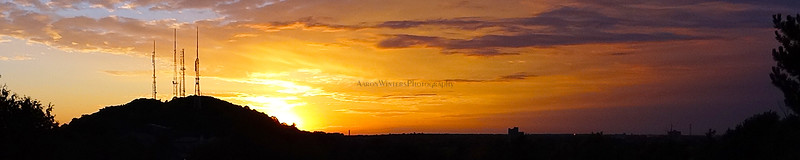 Pinnacle Hill Sunset 2012
