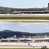 BHM Shuttlesworth Airport. Top: Around 2010. Bottom: 2019