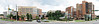 St Vincent Hospital complex, Birmingham AL<br /> Forty nine landscape images taken with Canon G10, Stitched with AutoPano Pro. Original is 23597X5712