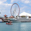 Navy Pier. Ten portrait images taken with Canon G10, stitched with AutoPano Giga.