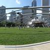 Pritzker pavilion at Millennium Park, Chicago.<br /> Four Portrait images taken with Canon G10, stitched with AutoPano Giga.
