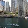 Chicago River looking north from Wacker Drive.<br /> Seven portrait images taken with Canon G10, stitched with AutoPano Giga