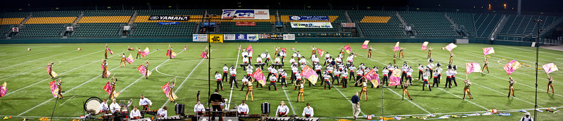 Caballeros action panorama, 2011 DCA World Championships, Rochester, NY