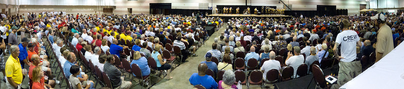 The entire crowd watching the 2011 DCA Minicorps World Championships.