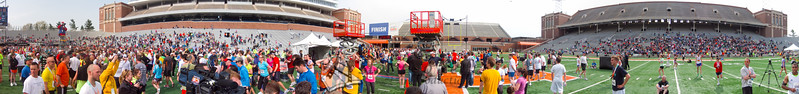 p166-1-p166-8half  Finish Time 2:36:50 Illinois Marathon 2011 Memorial Stadium Finish Line