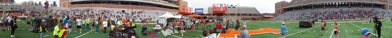 p133-1-p133-8half  Finish Time 2:15:10 Illinois Marathon 2011 Memorial Stadium Finish Line