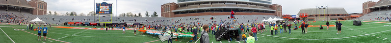 p100-1-p100-8half  Finish Time 1:21:37 Illinois Marathon 2011 Memorial Stadium Finish Line