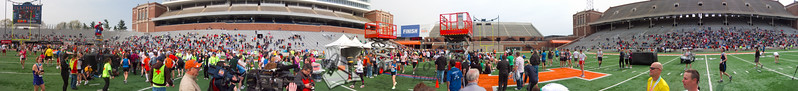 p150-1-p150-8half  Finish Time 2:27:51 Illinois Marathon 2011 Memorial Stadium Finish Line