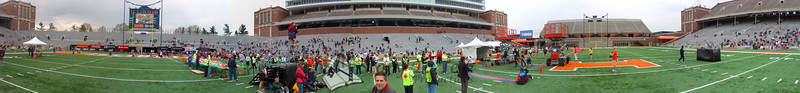 p114-1-p114-8half  Finish Time 1:45:35 Illinois Marathon 2011 Memorial Stadium Finish Line
