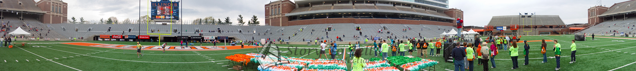 p91-1-p91-8half  Finish Time 1:04:16 Illinois Marathon 2011 Memorial Stadium Finish Line