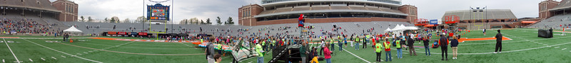 p107-1-p107-8half  Finish Time 1:24:16 Illinois Marathon 2011 Memorial Stadium Finish Line