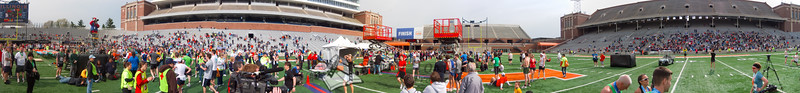 p137-1-p137-8half  Finish Time 2:21:34 Illinois Marathon 2011 Memorial Stadium Finish Line
