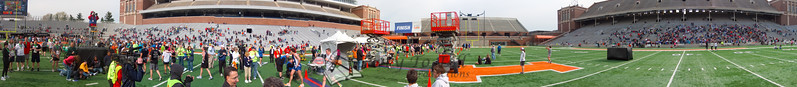 p122-1-p122-8half  Finish Time 2:08:37 Illinois Marathon 2011 Memorial Stadium Finish Line