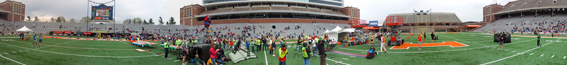 p116-1-p116-8half  Finish Time 1:46:52 Illinois Marathon 2011 Memorial Stadium Finish Line