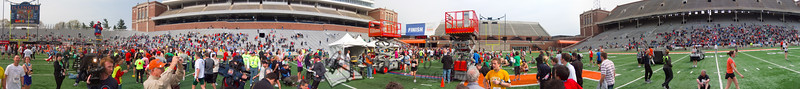p147-1-p147-8half  Finish Time 2:27:03 Illinois Marathon 2011 Memorial Stadium Finish Line