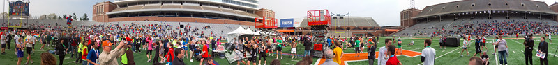 p146-1-p146-8half  Finish Time 2:26:52 Illinois Marathon 2011 Memorial Stadium Finish Line
