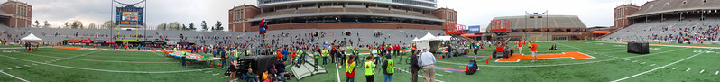p111-1-p111-8half  Finish Time 1:42:05 Illinois Marathon 2011 Memorial Stadium Finish Line