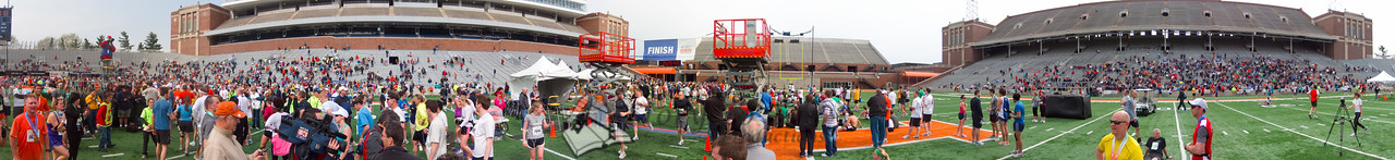 p152-1-p152-8half  Finish Time 2:29:47 Illinois Marathon 2011 Memorial Stadium Finish Line
