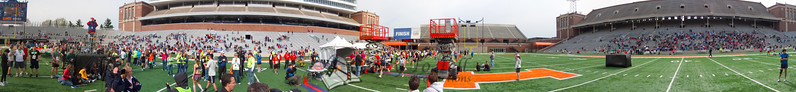 p123-1-p123-8half  Finish Time 2:08:49 Illinois Marathon 2011 Memorial Stadium Finish Line