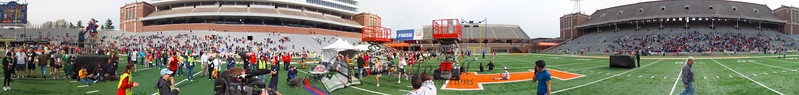 p125-1-p125-8half  Finish Time 2:10:43 Illinois Marathon 2011 Memorial Stadium Finish Line