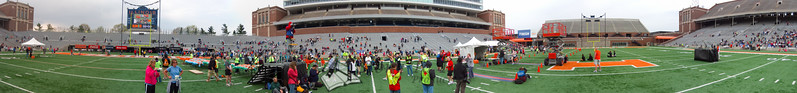 p118-1-p118-8half  Finish Time 1:49:38 Illinois Marathon 2011 Memorial Stadium Finish Line
