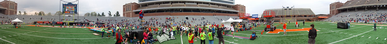 p115-1-p115-8half  Finish Time 1:46:08 Illinois Marathon 2011 Memorial Stadium Finish Line