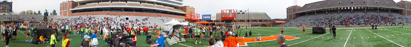 p127-1-p127-8half  Finish Time 2:11:51 Illinois Marathon 2011 Memorial Stadium Finish Line