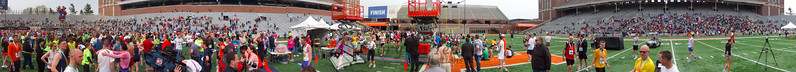 p155-1-p155-8half  Finish Time 2:31:30 Illinois Marathon 2011 Memorial Stadium Finish Line