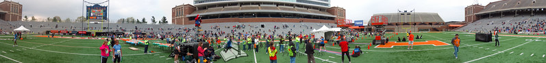 p117-1-p117-8half  1:48;34 Illinois Marathon 2011 Memorial Stadium Finish Line