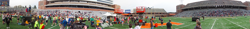 p130-1-p130-8half  Finish Time 2:13:50 Illinois Marathon 2011 Memorial Stadium Finish Line