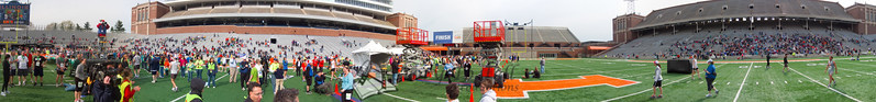 p121-1-p121-8half  Finish Time 2:08:22 Illinois Marathon 2011 Memorial Stadium Finish Line