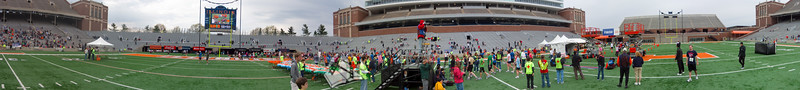 p106-1-p106-8half  Finish Time 1:23:54 Illinois Marathon 2011 Memorial Stadium Finish Line