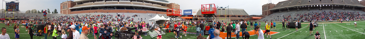 p149-1-p149-8half  Finish Time 2:27:40 Illinois Marathon 2011 Memorial Stadium Finish Line