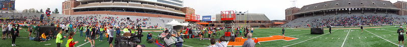 p132-1-p132-8half  Finish Time 2:14:35 Illinois Marathon 2011 Memorial Stadium Finish Line