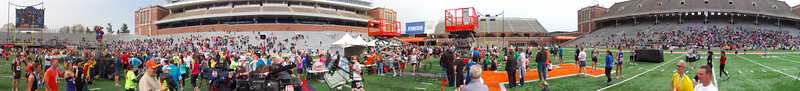 p151-1-p151-8half  Finish Time 2:29:07 Illinois Marathon 2011 Memorial Stadium Finish Line