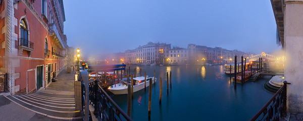 Misty Grand Canal