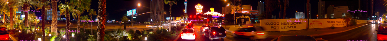 Las Vegas Strip, Street View Panoramas