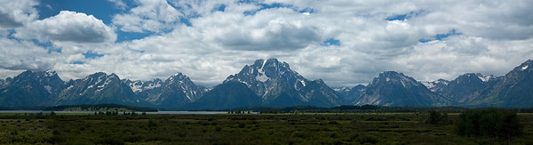 Grand Tetons panorama 2