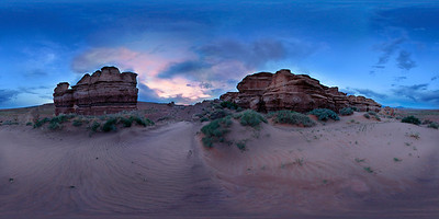 Desolate Dune Hoodoos