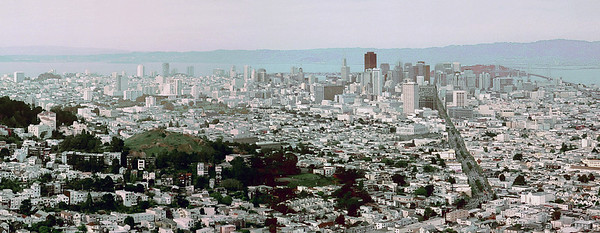 Cropped Panorama of San Francisco