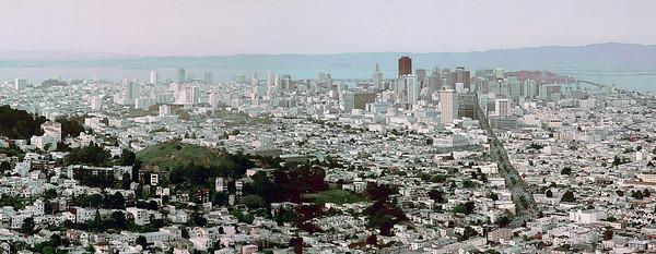 Cropped Panorama of San Francisco
