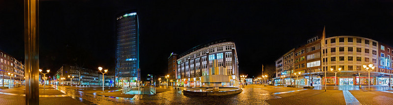 Duisburg City - pedestrian zone
