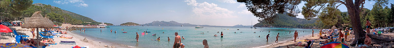 Mallorcan beach