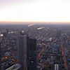 Main Tower viewer - evening pano, Frankfurt/Main