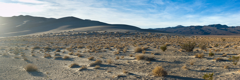 Eureka Dunes I<br /> Death Valley National Park<br /> (Stitched Panorama)