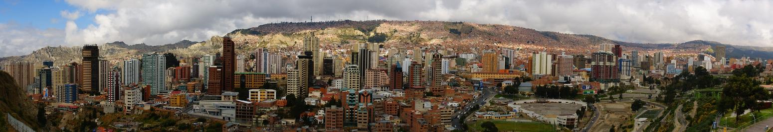 Panoramic Views | La Paz, Bolivia | Travel Photo